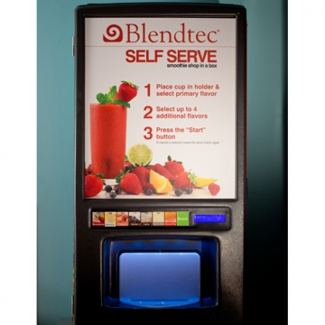 Торговый автомат для продажи смузи